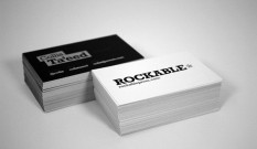 Rockable Press Business Cards