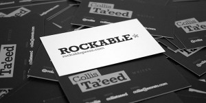 Rockable Press Business Cards
