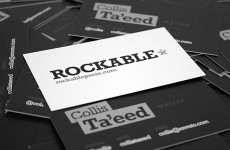 Business cards Rock